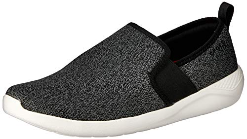 CROCS Herrenschuhe LiteRide Slip-On black white, Größe:39/40 EU