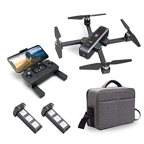 gaeruite [Upgraded Neueste MJX Bugs 4W B4W RC-Drohne, Faltbare 4-Achsen-Drohne mit 4K 5G WiFi FPV HD-Kamera mit bürstenlosem Motor Optischer Fluss Globale Positionierung