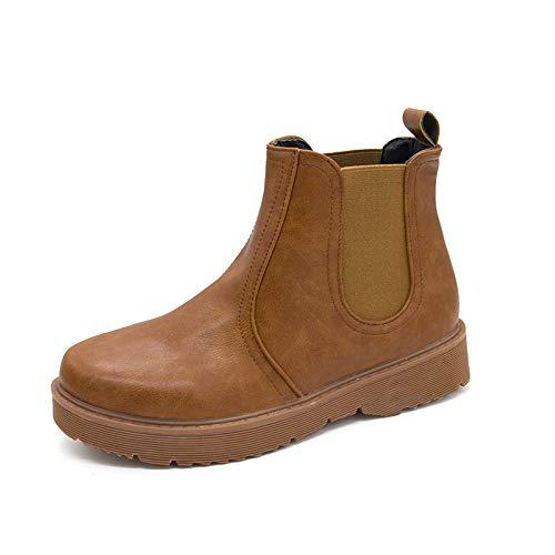 Shukun enkellaarsjes laarzen Women'S Platform Martin laarzen Women'S Bare laarzen voor kinderen Flat Students Women'S Boots lente en herfst enkele laarzen