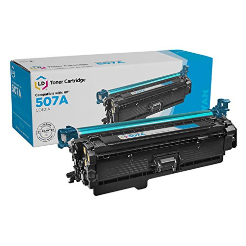 Price comparison product image LD Remanufactured Toner Cartridge Replacement for HP 507A CE401A (Cyan)