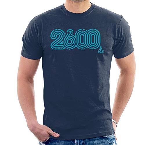 Atari 2600 Blue Distressed Logo T-shirt