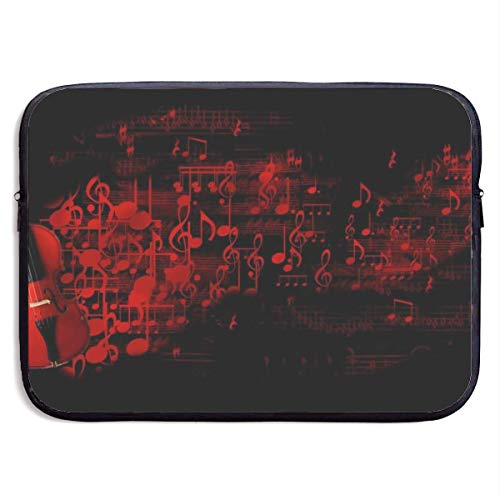 Red Violin PrintComputer Case Cover for Ultrabook, MacBook Pro, MacBook Air, Asus, Samsung, Sony, Notebook,13 inch