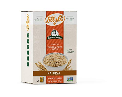 Lilly B's Gluten Free Instant Oatmeal, Natural, 8 Packets