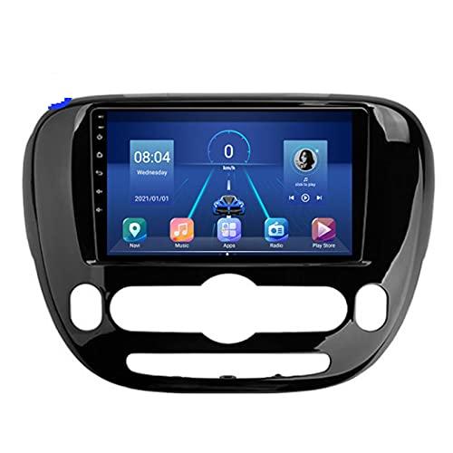 STTTBD 9'Android 10.0 2 DIN Radio De Navegación para Kia Soul 2 PS 2013-2019 Soporte Bluetooth USB WiFi Pantalla Táctil Reproductor De Video Multimedia Navegación GPS Autoradio(Color:4G+WiFi 2G+23G)