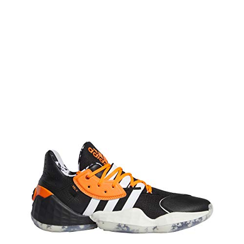 adidas Hombre Harden Vol. 4 Zapatos de Baloncesto Negro, 44