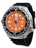 Taucher T0333 - Reloj de buceo (tamaño XL, cristal de zafiro, 52 mm)