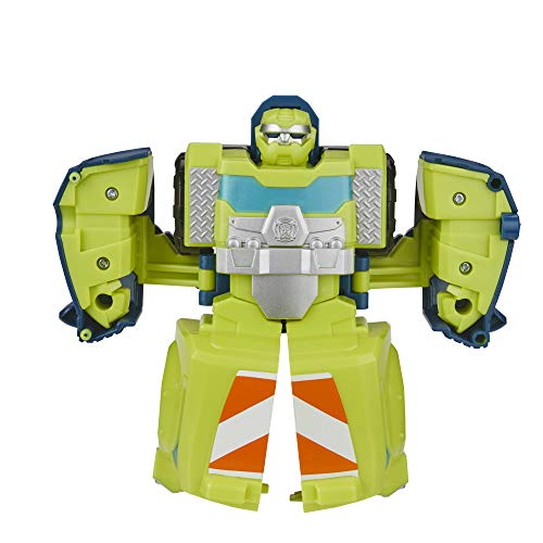 Hasbro Transformers - Salvage (Action Figure trasformabile 11 cm, Playskool Heroes Rescue Bots Academy)