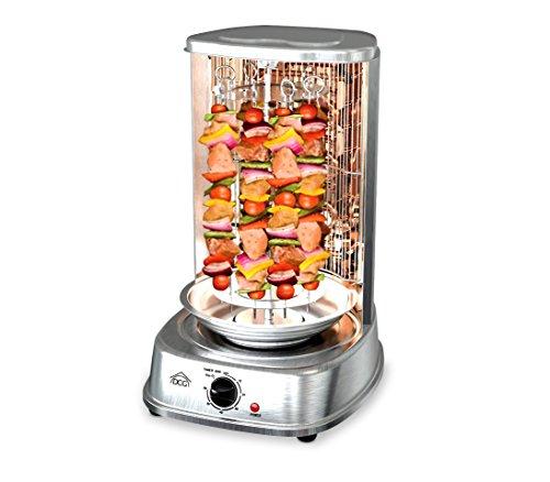 Forno elettrico 1200W verticale MB1022 DCG kebab pollo allo spiedo e spiedini. MEDIA WAVE store ®
