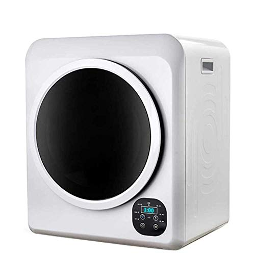 1500W Electric Portable Clothes Dryer, 13.2 lbs Capacity Front Load Compact Tumble Laundry Dryer with Stainless Steel Tub, Easy Control Button Panel for Variety Drying Mode