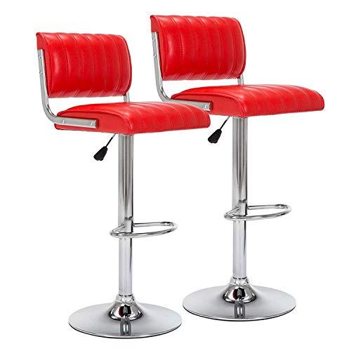 GFDFD Chaise de Bureau à Dossier mi-Haut en Cuir, Chaise de Bureau pivotante en Cuir avec Dossier côtelé