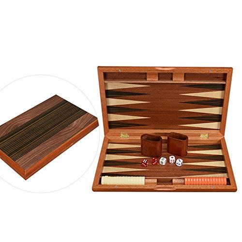 Pevfeciy Viajes de Backgammon, Juegos de Mesa de Familia, Juego de Backgammon...