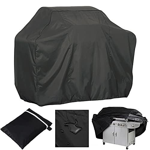 Cubierta para barbacoa, cubierta impermeable de tela Oxford, resistente al viento, a prueba de polvo, a prueba de roturas, anti-UV, con bolsa de almacenamiento (M: 100 x 60 x 150 cm)