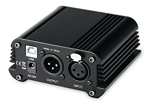 Alimentación phantom Pronomic PP-10 USB con interfaz de audio