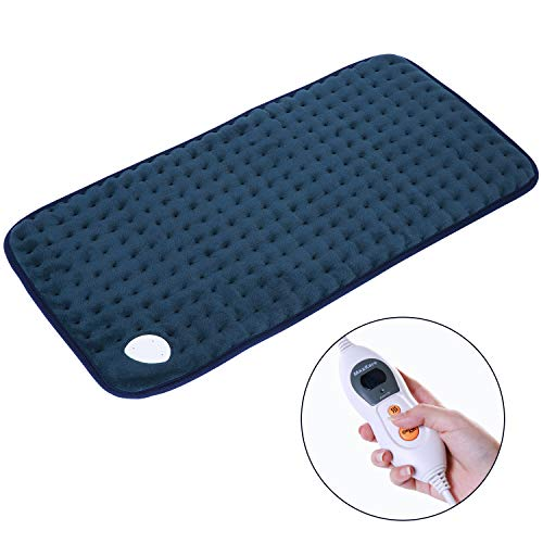MaxKare Heat Pad Warm Soft Flannel Electric Heat Pads with 6...