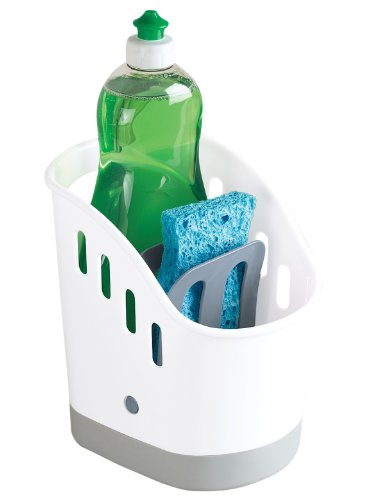 Kitchen Sink Organizer Sink Caddy for Kitchen Organization - Kitchen Sponge and Brush Holder and Organizer