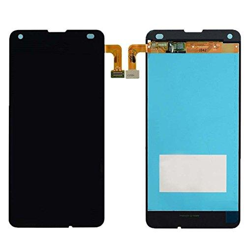 MovTEK Nokia Microsoft Lumia 550 LCD Display Schermo Vetro Digitizer Touch Screen Assemblato di Ricambio e Gratis Kit Utensili (Nero)