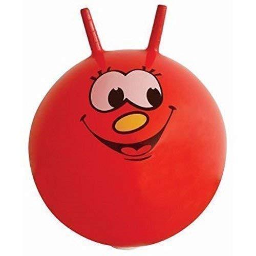 The Home Fusion Company 60cm/24 Enfants Adulte / Space Hopper Jump & Bounce - Intérieur / Extérieur Jouet en Rouge