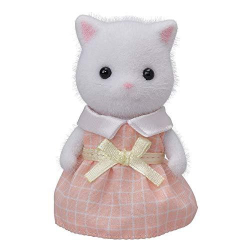 シルバニアファミリー 人形 ペルシャネコの女の子(ホワイト) ニ-105