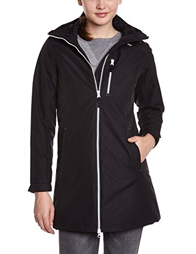 Helly Hansen Giacca, Giaccone Donna, Nero, M