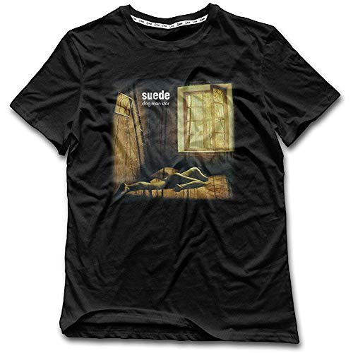 Daryl Cousins Suede Dog Man Star Album Cool Mens T Shirts
