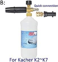 OscenLife High Pressure Soap Foamer Sprayer/Foam Generator/Foam Gun Weapon/Snow Foam Lance for Karcher K2 K3 K4 K5 K6 K7 Car Washer