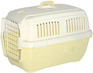 Marchioro Clipper Cayman 1 Pet Carrier, Small Pet, 19.5-inches, Tan/Soft Yellow by Marchioro