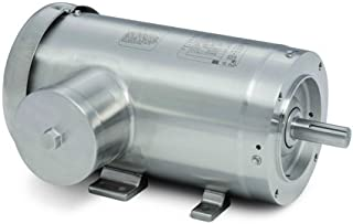 Baldor Electric Company CFSWDM3559T-E - Foot Mounted AC Washdown Motor-Encapsulated -Food Safe - General Purpose Motor - (Stainless Steel), 3 ph, 3 hp, 3600 rpm, 230/460 V, 145TC Frame, TE