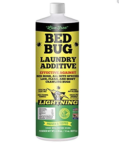 Live-Free Bed Bug Lightening Laundry Additive - 32 Oz