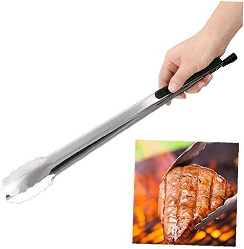 hwljxn 1 stücke Zangen Edelstahl Kochwerkzeuge Multifunktionssalat Lebensmittel Clip Barbecue Grill Werkzeuge Küchenwerkzeuge