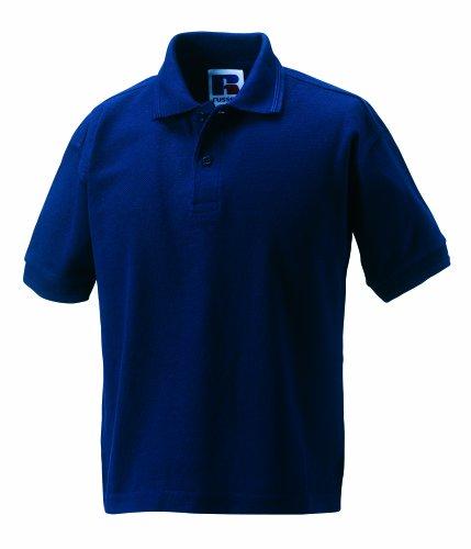 Jerzees Kinder-Poloshirt, strapazierfähig Gr. L, navy