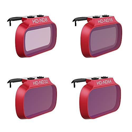 PGYTECH Filtro ND SET PRO per Mavic Mini 2/Mavic Mini/DJI Mini SE (ND 8 16 32 64)