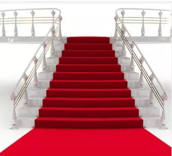 """sexyrobot Disposable Hollywood Red Carpet Runner, Wedding Accessories Party Theme Supplies and Decoration, 39"""" by 32.8'"""