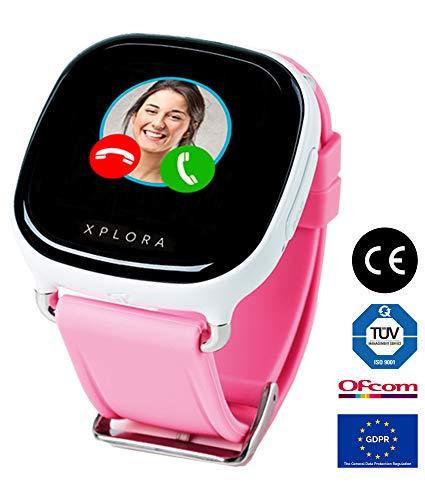 XPLORA Smartwatch para niños, SIM no incluida (BLANCO)