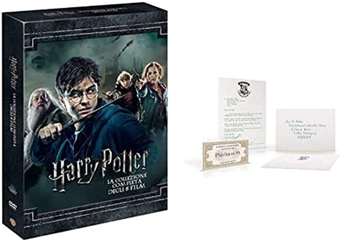 DVDHarry potter collection (standard edition) (8 dvd) + kit hogwarts B08HH8DVLL