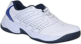 NIVIA ZEAL TENNIS SHOE -7(WHT/N.BLUE)