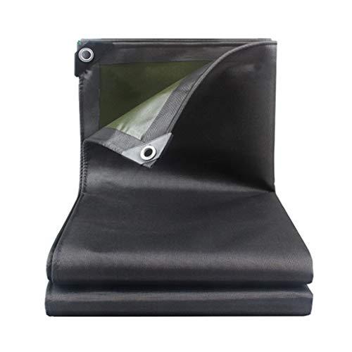 AOLI Staubdichtes wasserdichtes Planen-LKW-Schuppen-Tuch - Bodenblechabdeckungen - UV-Schutz - Dicke 0,7 mm, 550 g / m2, Optionen für mehrere Größen,2m * 2m