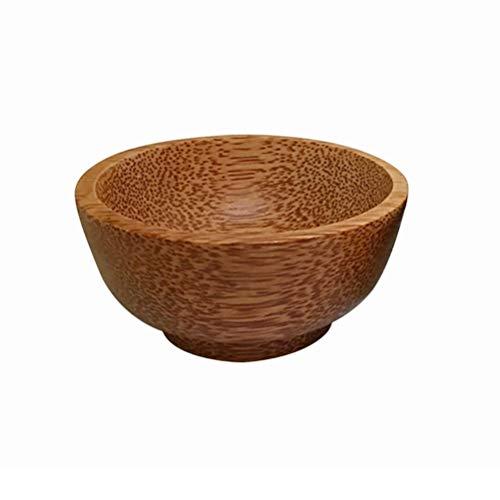 Akemaio Natürliche Kokosnuss Schale, der handgemachte Gewürz Schüssel Anti Scalding Steak Sauce Senf Sojasauce Handwerk Holzschale