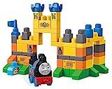 Mega Bloks Thomas and Friends Thomas en el Castillo de Ulfstead, Tren de Juguete y Bloques Construcción Bebé 1 Año (Mattel FVJ82)