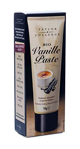 Taylor & Colledge Bio Vanille Paste aus der Tube, 50 g