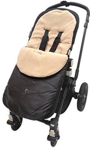 For-Your-Little-One Universal Fußsack für Silver Cross Kinderwagen Kinderwagen Buggy Sand