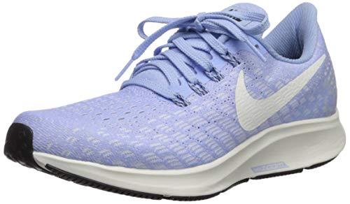 Nike Women's Air Zoom Pegasus 35 Running Shoes Aluminum/Black/Sail 9 M US