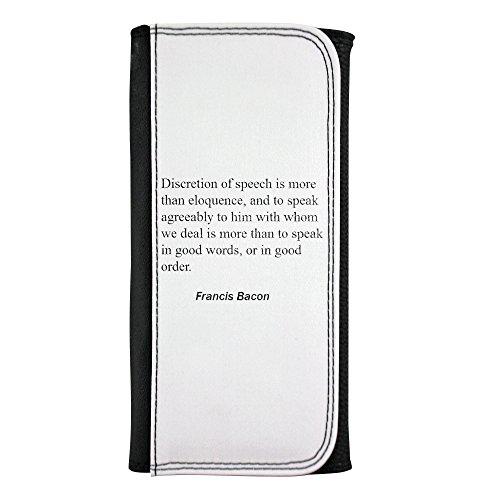 La discreción del discurso es más que elocuencia, y hablar con gusto...