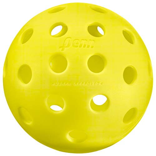 Penn 40 Outdoor Pickleball Balls - Softer Feel for Recreational & Club Play - USAPA Approved, 3-Pack