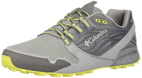 Columbia Montrail Men's Alpine FTG (Feel The Ground) OutDry Trail Running Shoe,Ti Grey Steel, Zour,11 Regular US