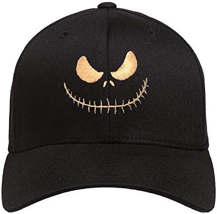 Jack's Smile Men Women Cotton Hat Nightmare Souvenir Adjustable Strapback Baseball Cap
