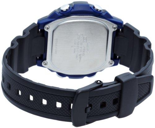 [カシオ]腕時計スポーツギアタイドグラフソーラーW-S210H-1AJFブラック