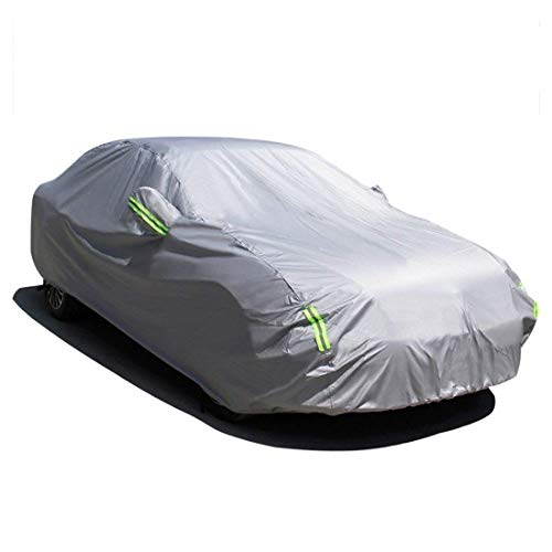 MATCC Car Cover Waterproof All Weather Upgraded UV Protection Sedan Cover Universal Fit Outdoor Full Car Cover Up to 197''(197''L x 75''W x...