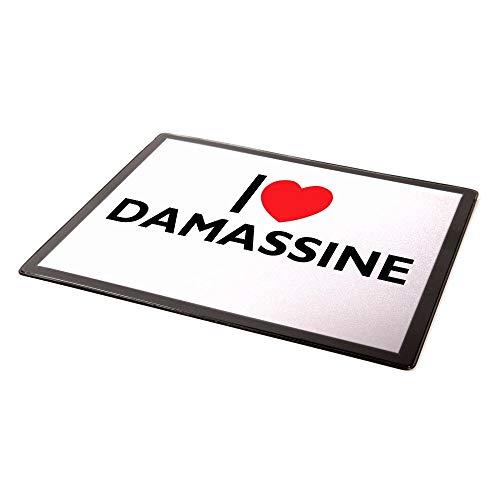 """Mauspad """"I Love Damassine"""""""