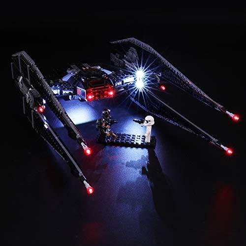 BRIKSMAX Kit Iluminación Led Lego Star Wars Kylo