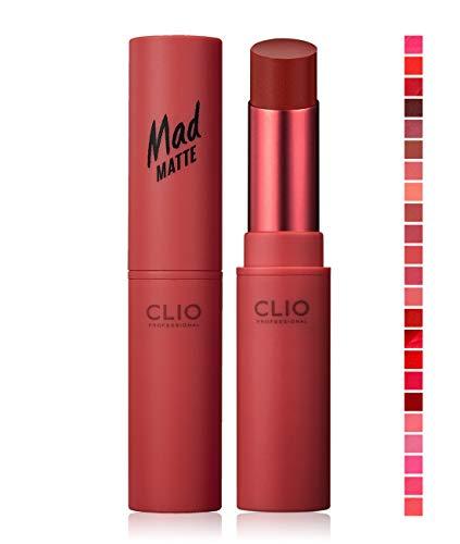 CLIO Mad Matte Lip 0.2 Ounce, 006 SENSUAL PEPPER (AD)